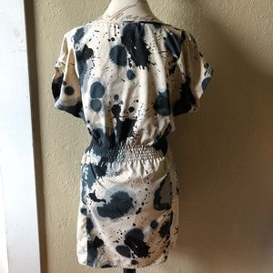 Angie Tops - Angie paint splatter tunic size small